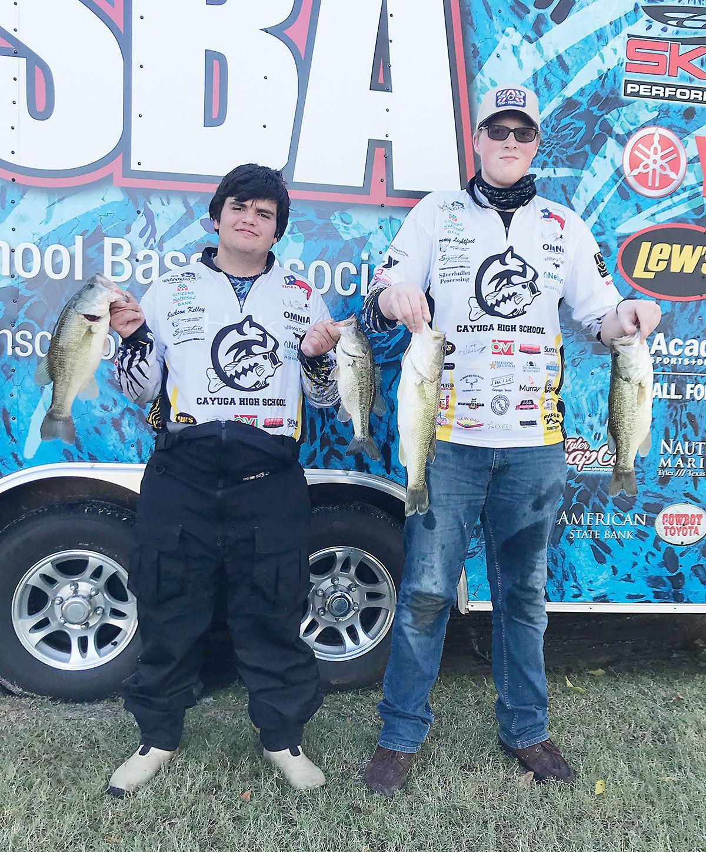 Cayuga fishing team, No. 1
