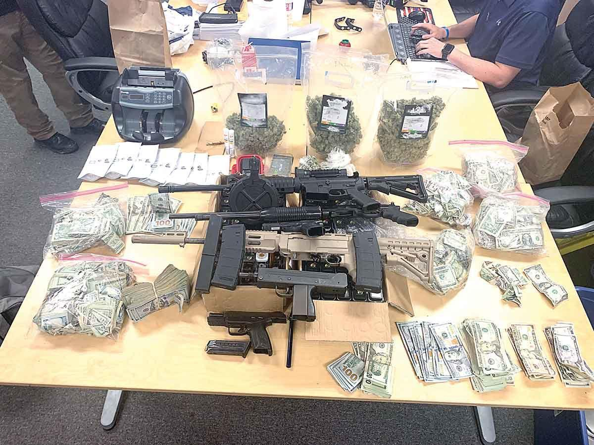 PPD bust leads to drugs, weapons, and theft charges | News