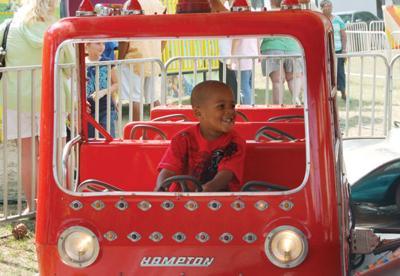 Peanut Festival car ride