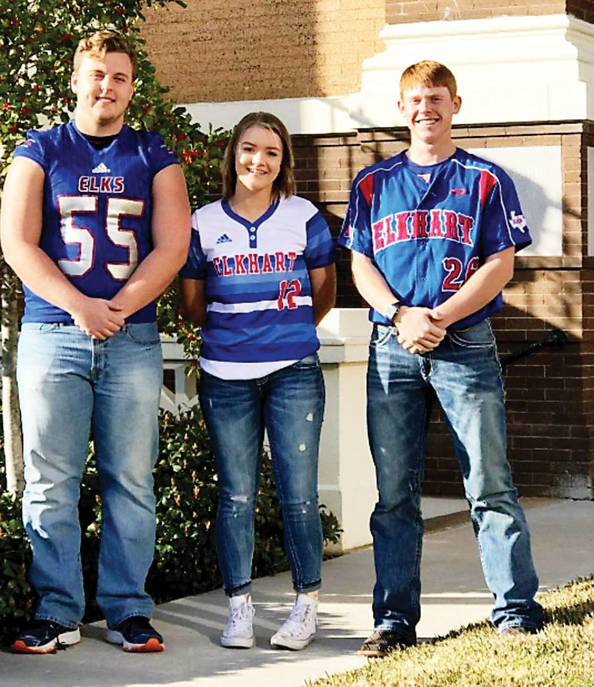 Elkhart High School trio of FCA all-stars