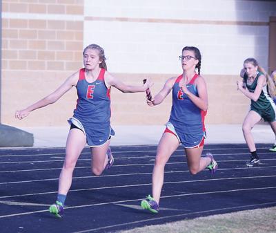 Elkhart girls fare well in relays