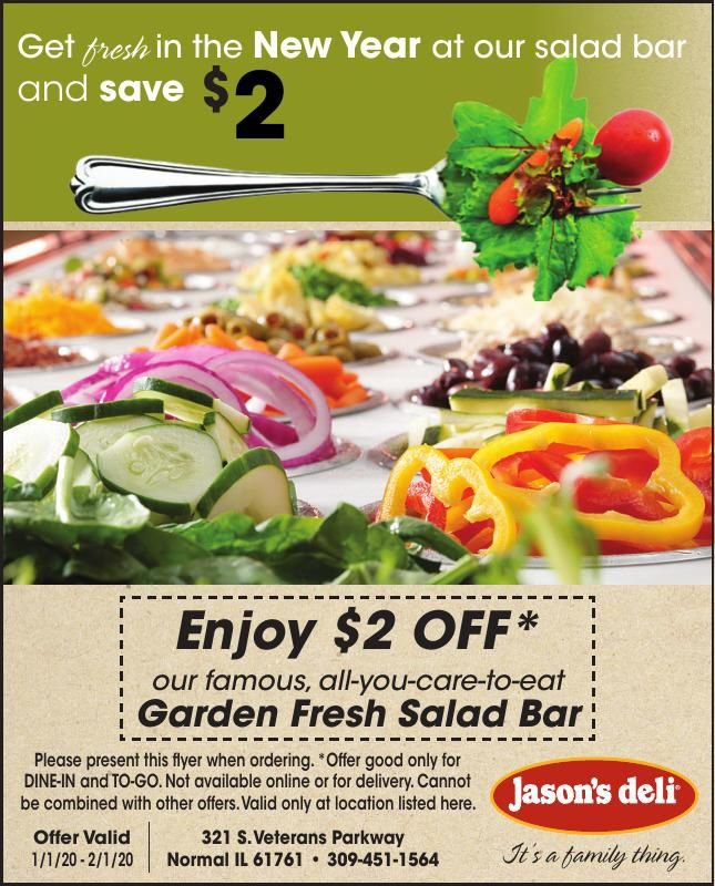 New Year - New Salad Bar