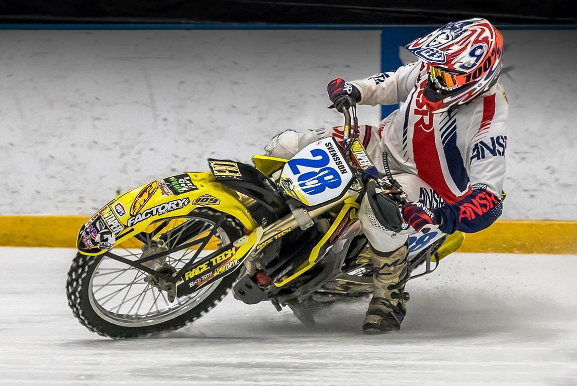 Svensson photo for racing column