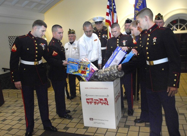 Marines Toys For Tots 2012 : Toys for tots distributing record drop boxes in mclean