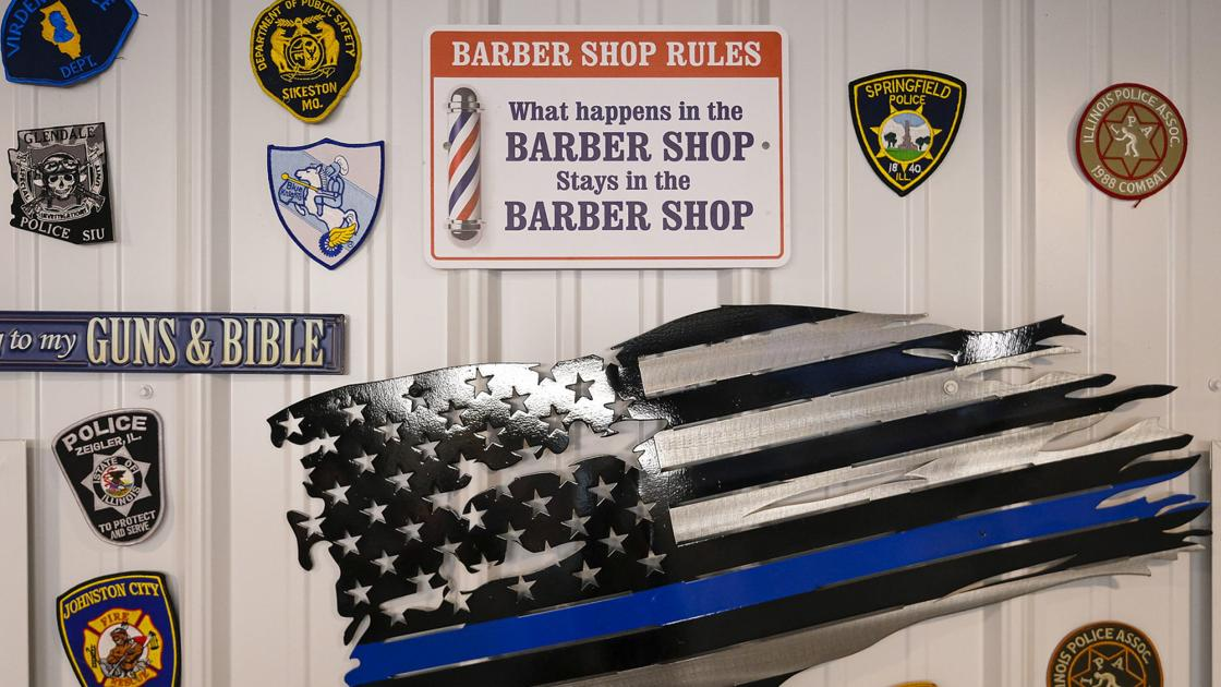 This southern Illinois barbershop is place to get haircut, shoot off frustration