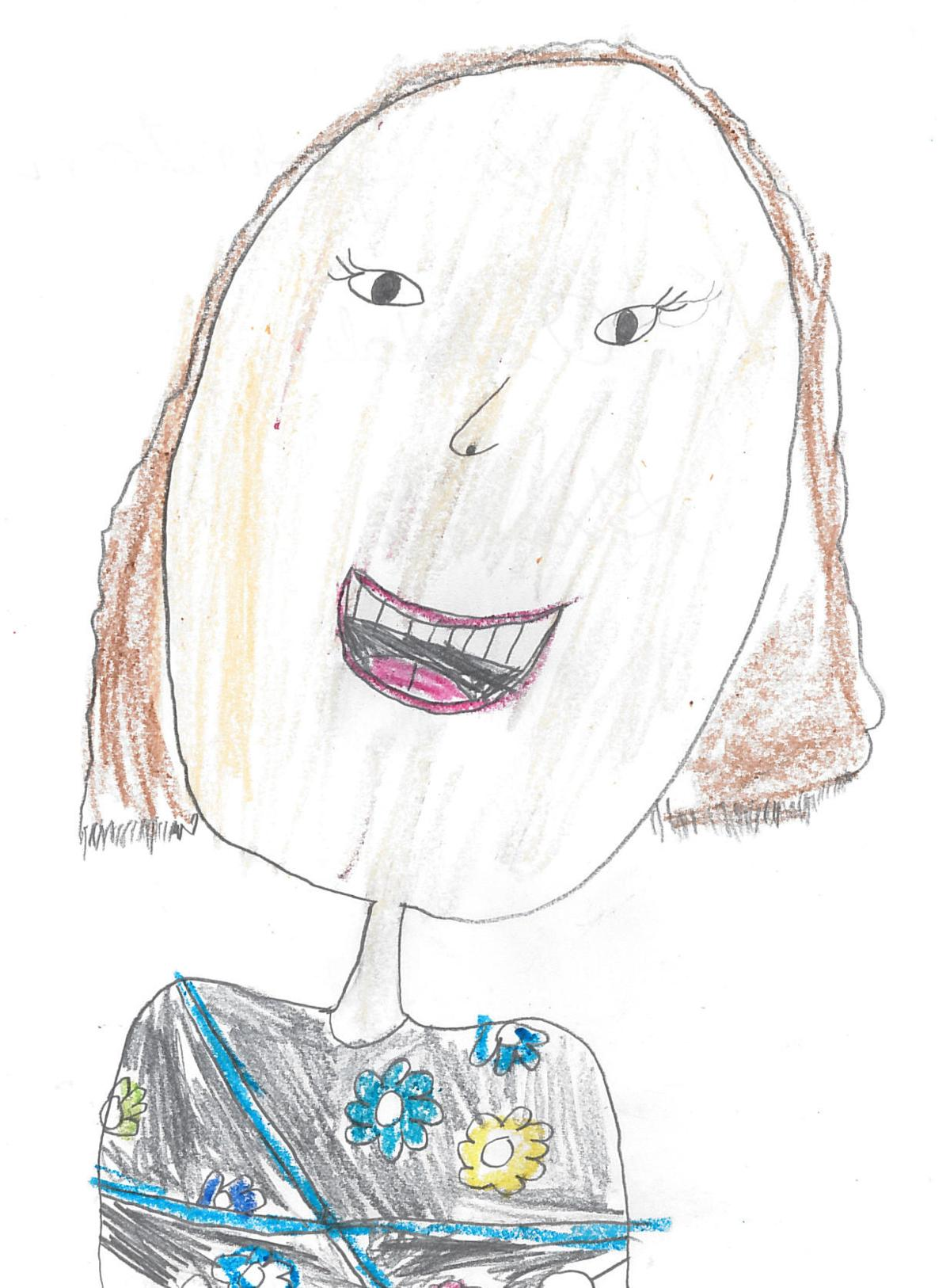 Amalie Johnston, grade 2, Oakdale