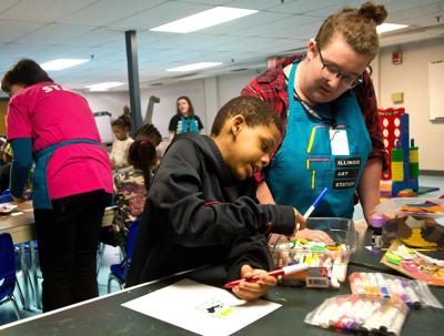 'Unique power:' ISU's Art Station shows youths what's possible