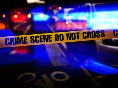 crime scene grafic