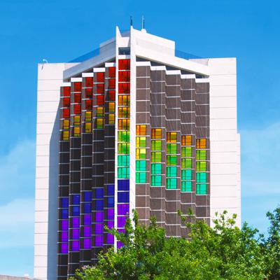 ISU's Rainbow Floor rendering