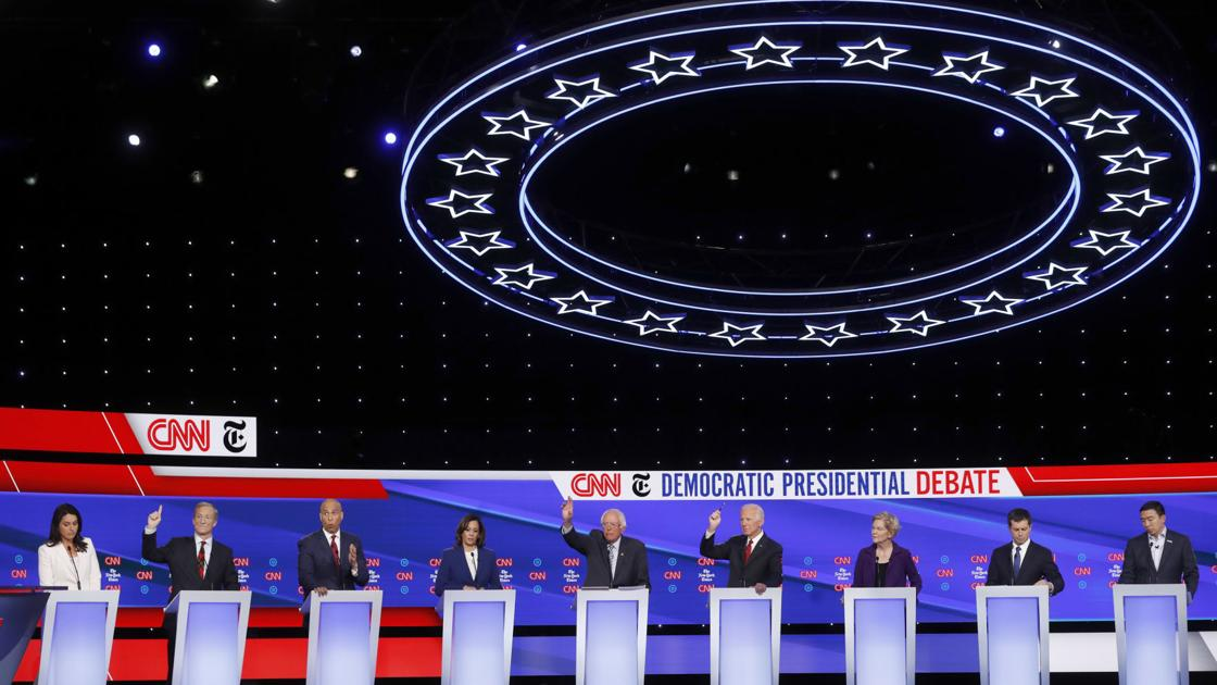 Fact-checking claims from Tuesday night's Democratic debate