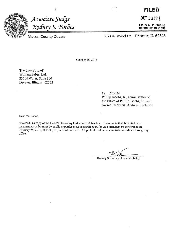 Jacobs Lawsuit - Complaint
