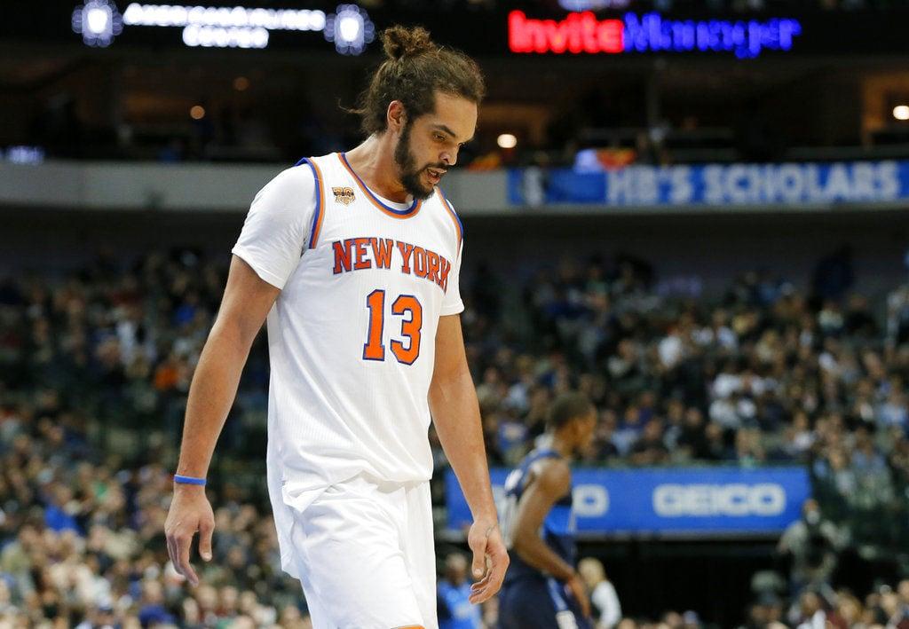Knicks-Noah Waived Basketball