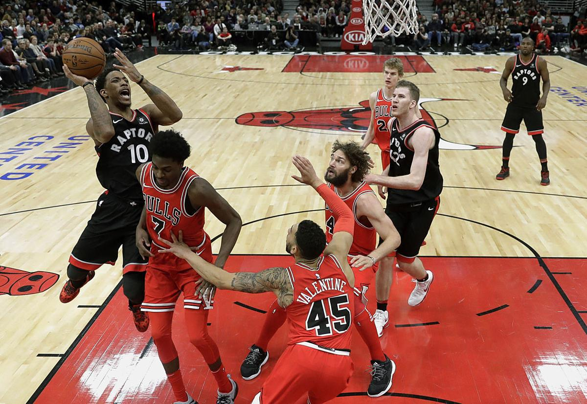 Raptors Bulls Basketball