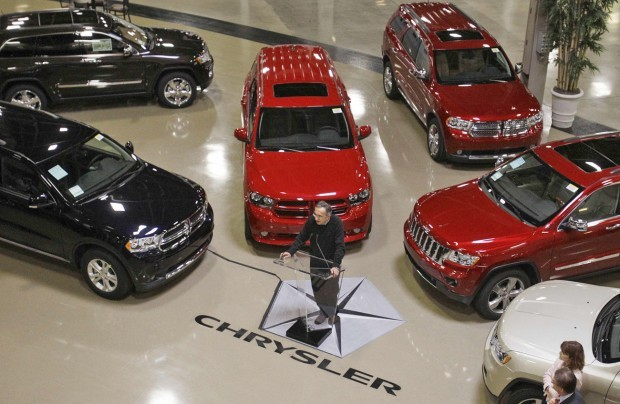 Sergio Marchionne Chrysler auto sales