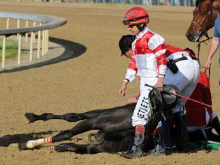 Tragedy overshadows unbeaten Big Brown's Kentucky Derby win