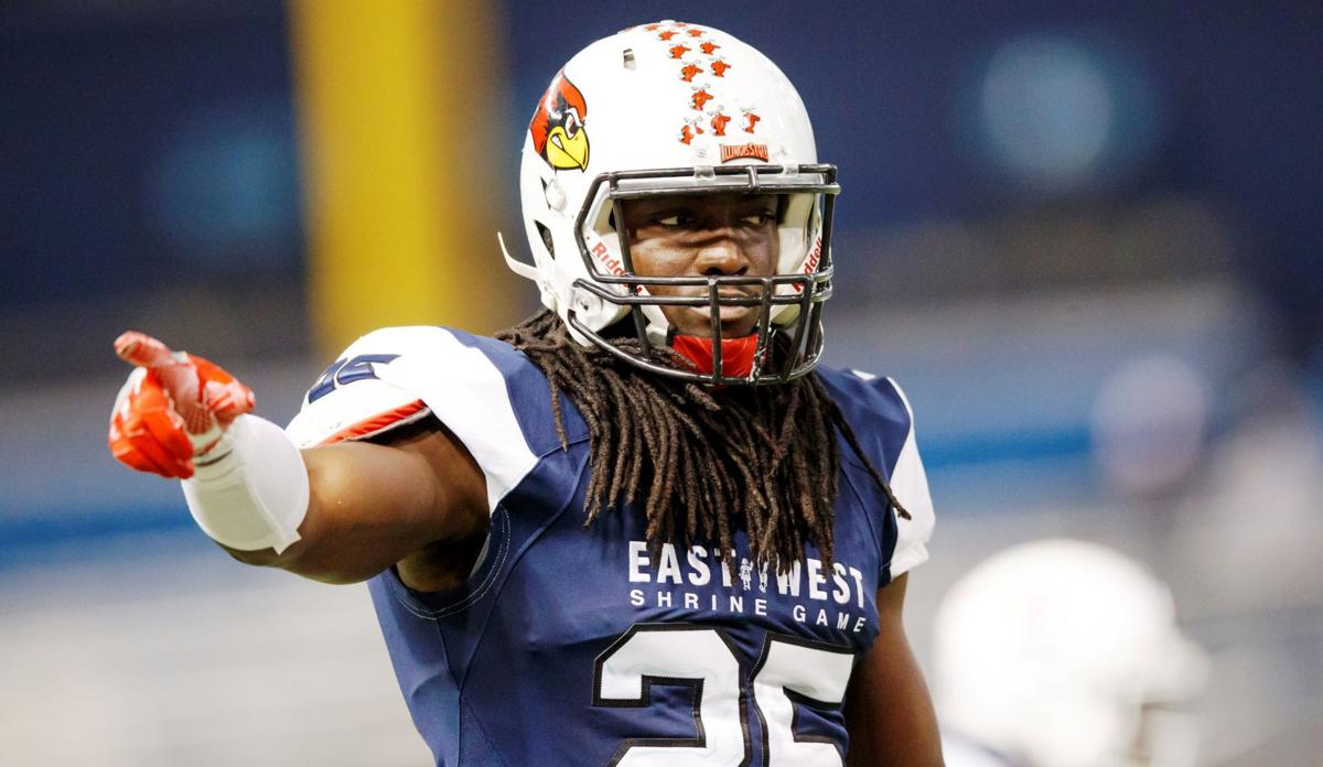 Davontae Harris at Shrine Game