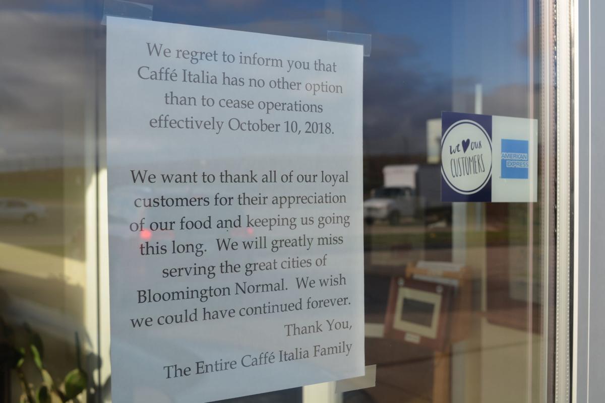 Caffe Italia sign