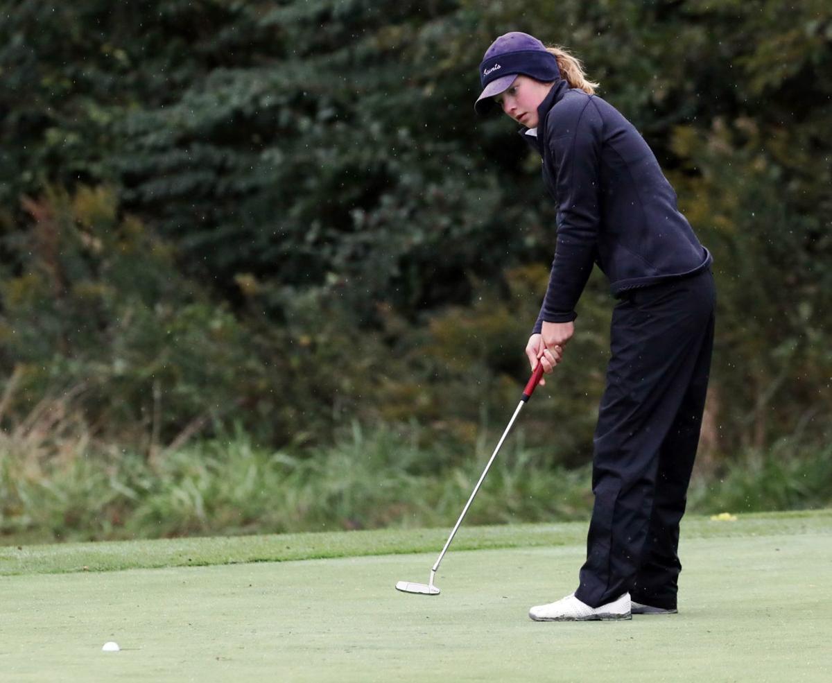 Girls state golf Katie Steinman