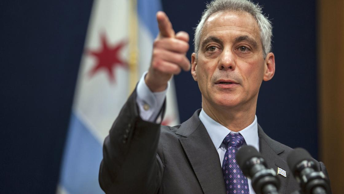 In Unexpected Turn Chicago Mayor Rahm Emanuel Wont Seek 3rd Term
