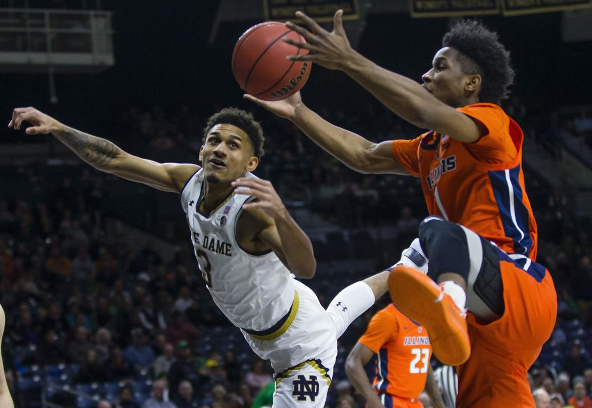 Notre Dame Illinois Basketball