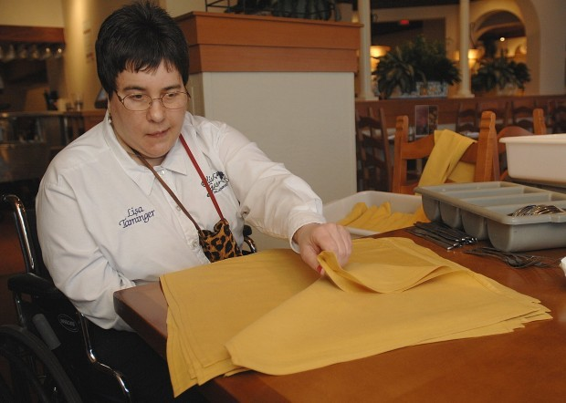 olive garden holds job for disabled woman - Olive Garden Peoria Il