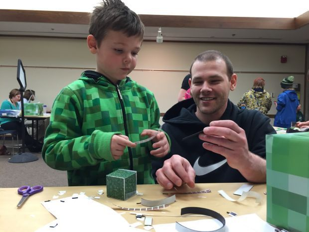 kids compete creatively at  u0026quot minecraft u0026quot  tournament
