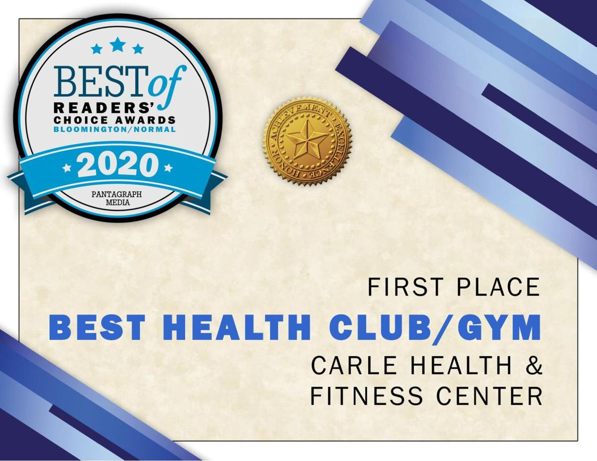 Best Health Club/Gym