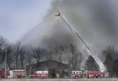 Fire destroys home, barn in rural Lexington   Local News