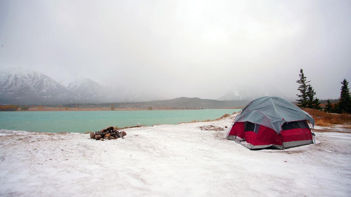 Snow camping, not as bad as it sounds. Here are the basics