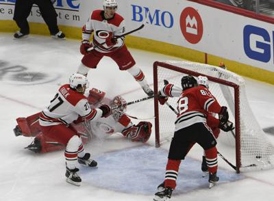 Former Blackhawks goalie Scott Darling requests leave of absence from  Hurricanes 1370aabaa