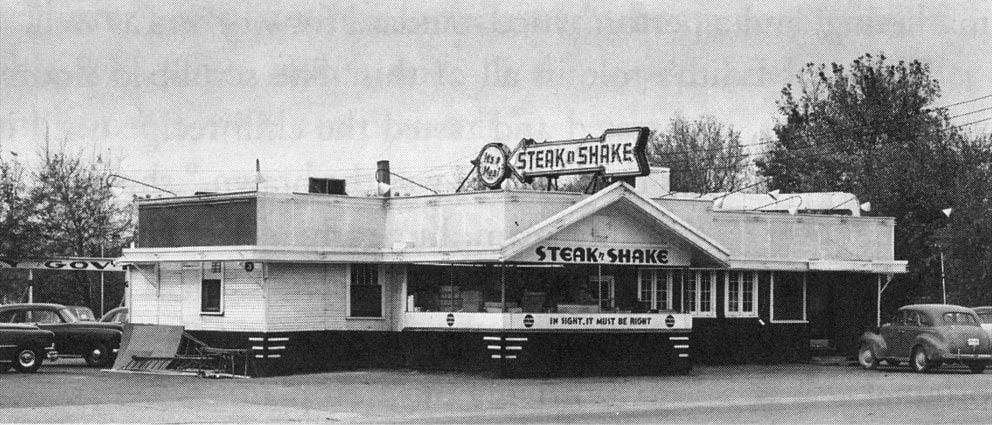 The first Steak 'n Shake