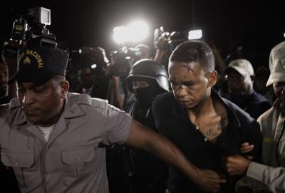 APTOPIX Dominican Republic David Ortiz Shot