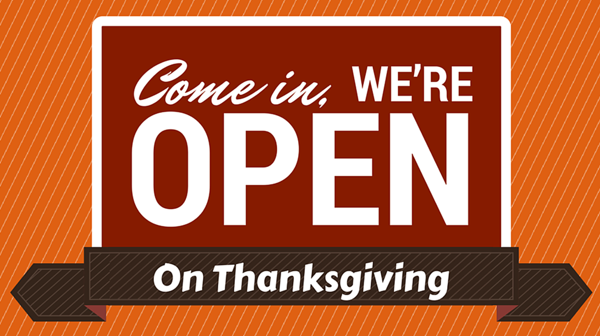 b n restaurants open on thanksgiving day 2016