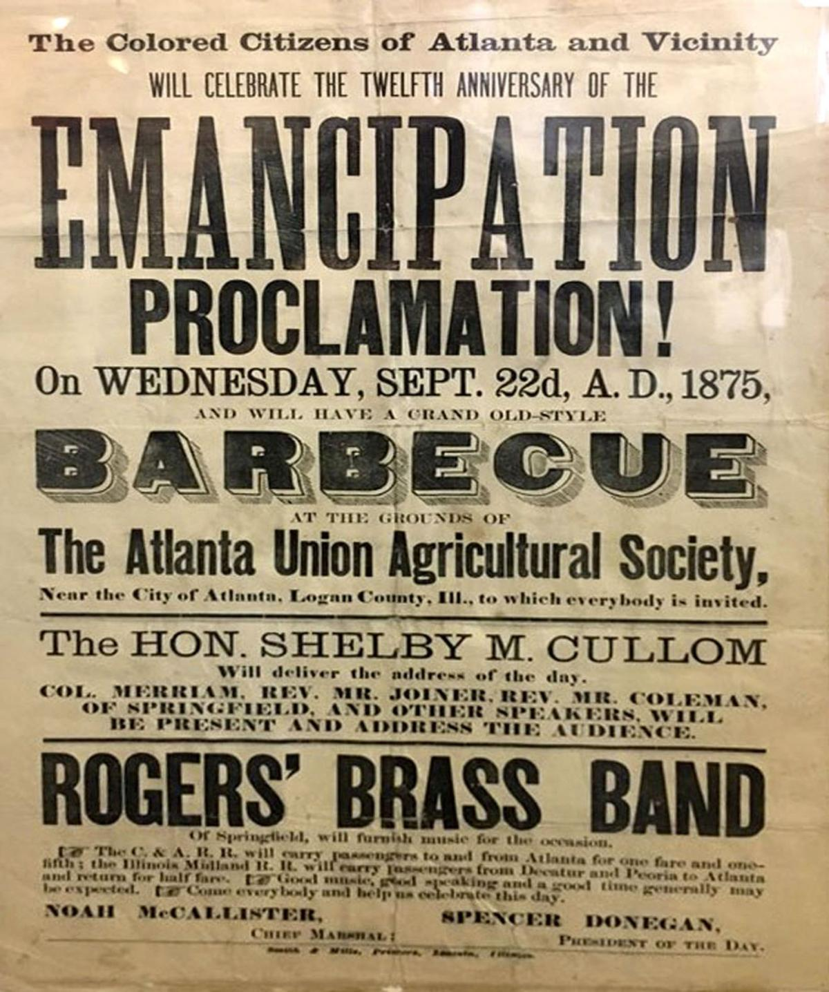 PFOP: Emancipation Day Once Black Community's July 4