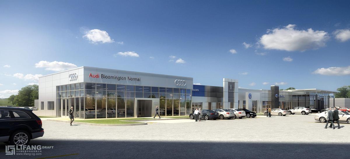 Grossinger motors plans 39 multimillion dollar 39 expansion in for Grossinger motors normal il