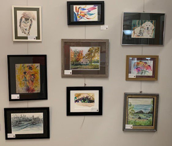 Inside Out: Accessible Art Gallery & Cooperative Watercolor exhibit