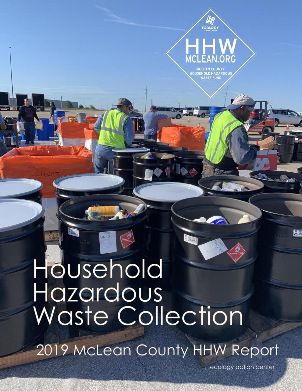 2019 Household Hazardous Waste Collection Report