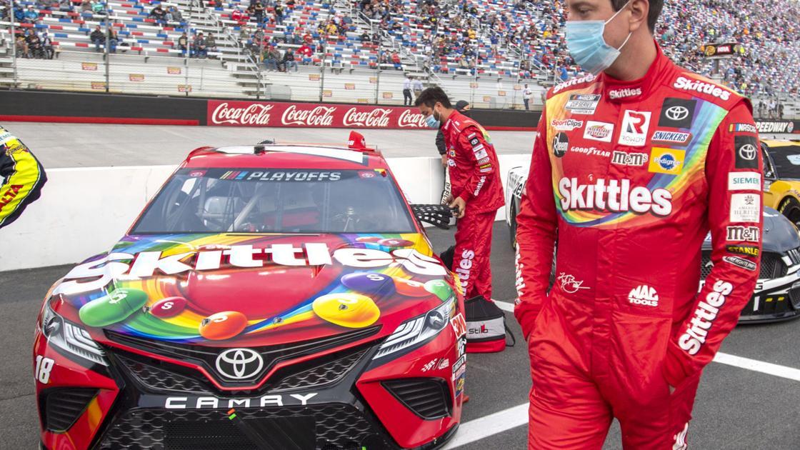 NASCAR champion Busch tries to stave off elimination