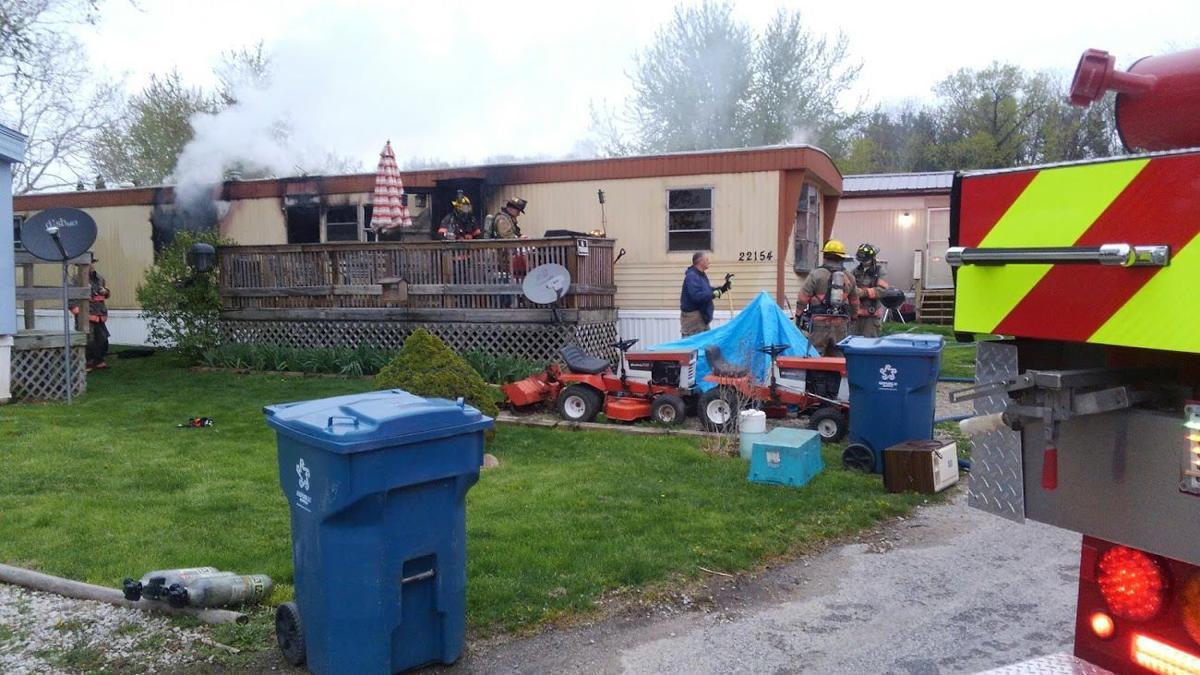 Lexington fire