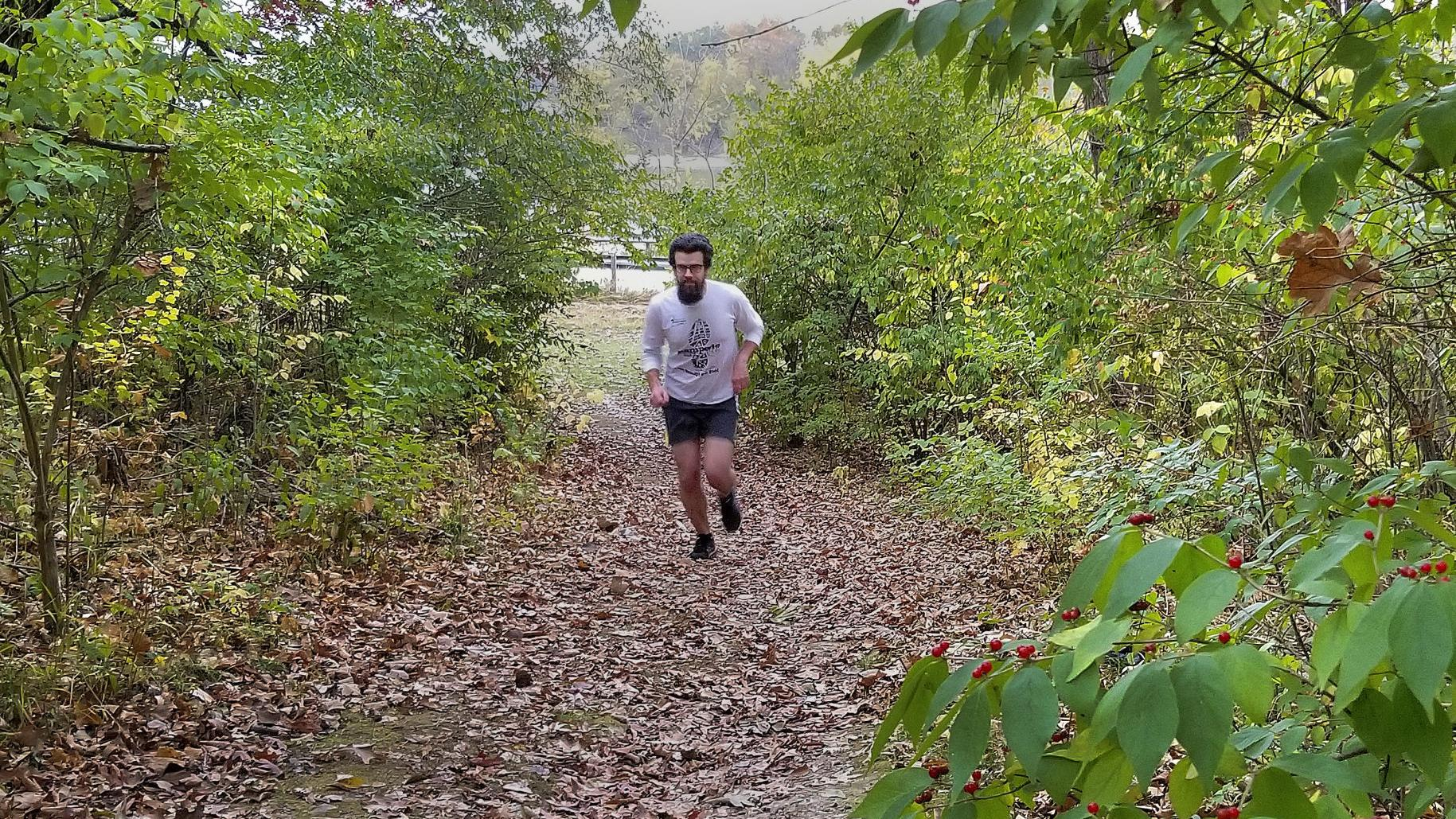 Watch now: Trail running at Comlara Park 'good for your soul'