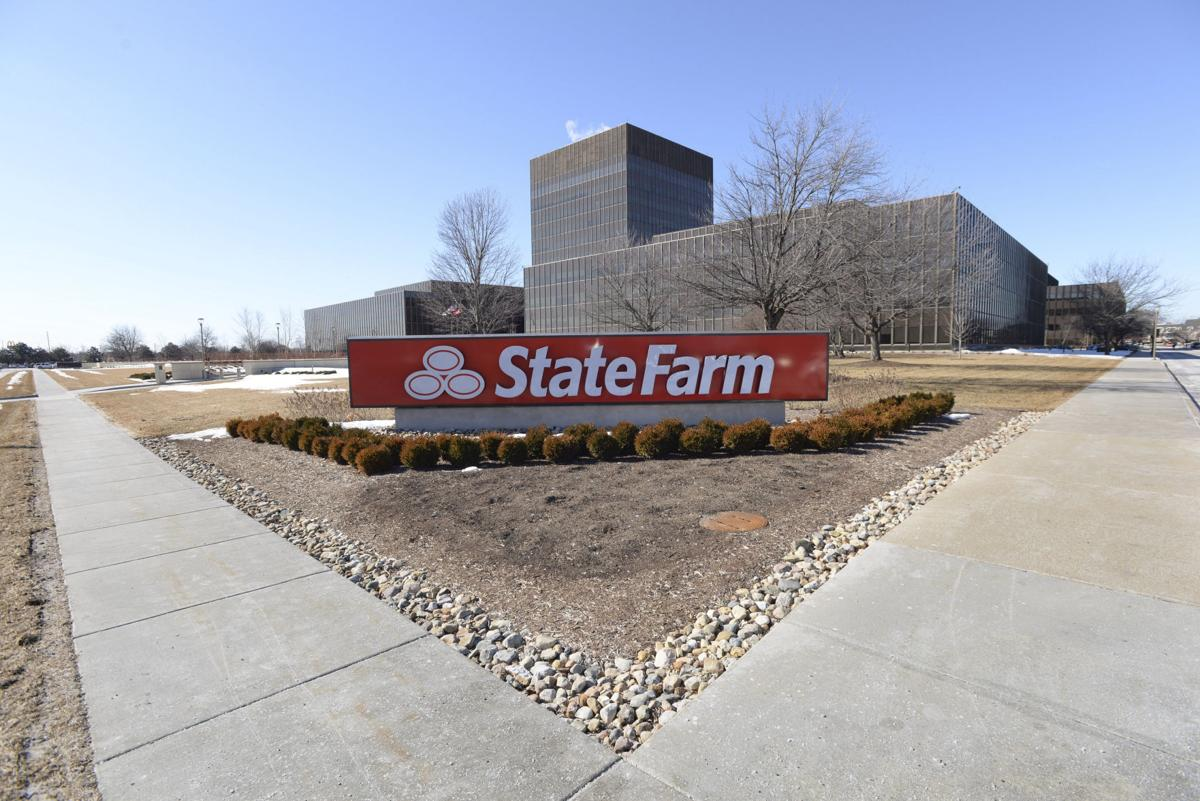 State Farm T Building Bloomington Il