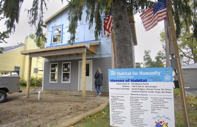 First McLean County hero house, in memory of Josh Rodgers, nearly complete