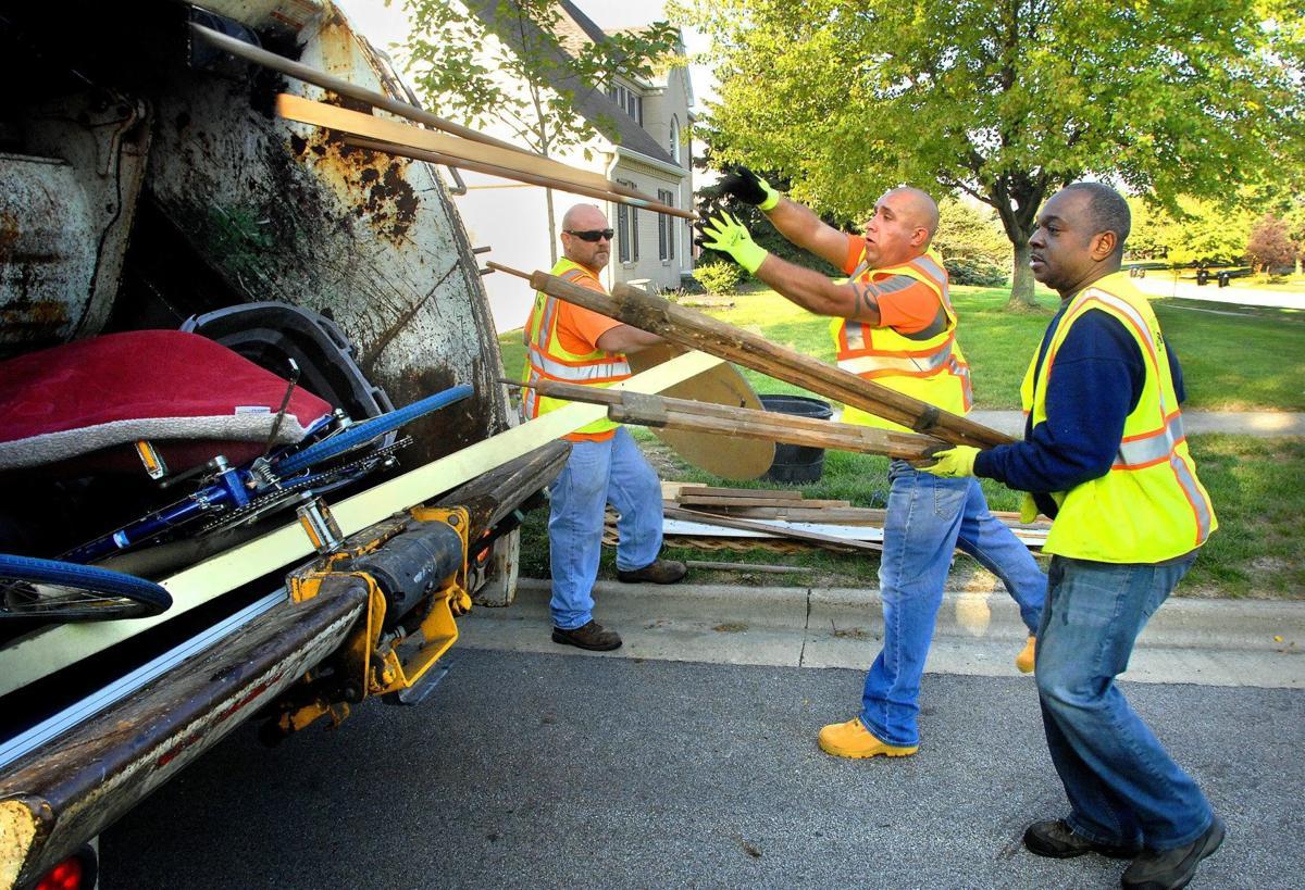 Bulk waste pickup period begins