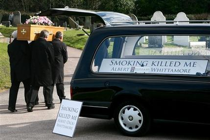 smoker funeral 030210