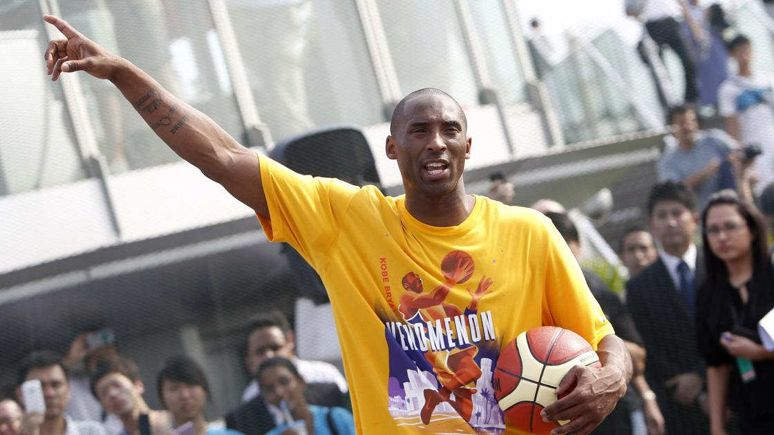 NBA stars, fans and more react to the death of Kobe Bryant