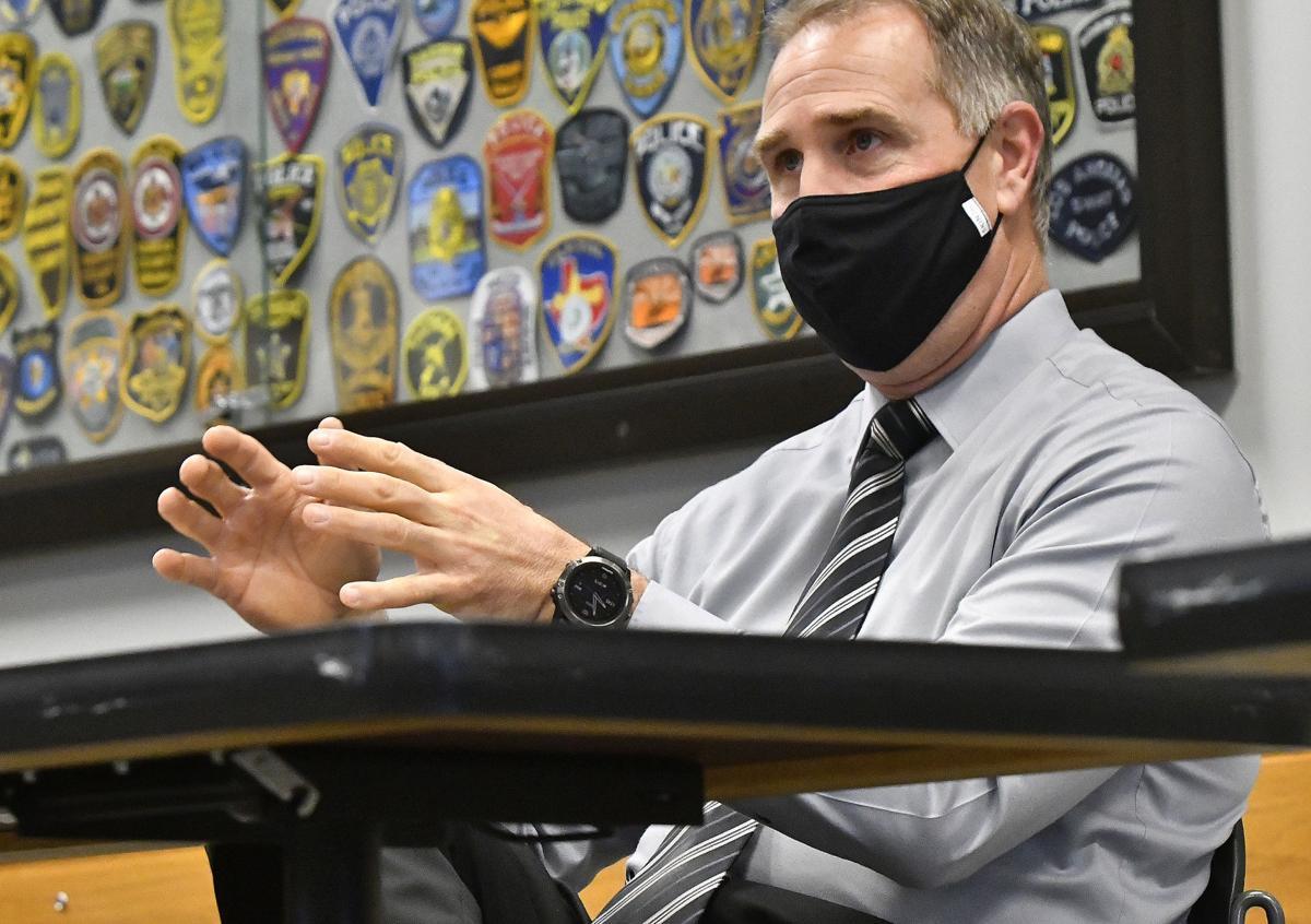 Normal Police Chief Rick Bleichner