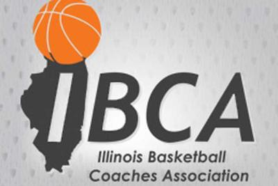 Illinois Basketball Coaches Association logo (IBCA)
