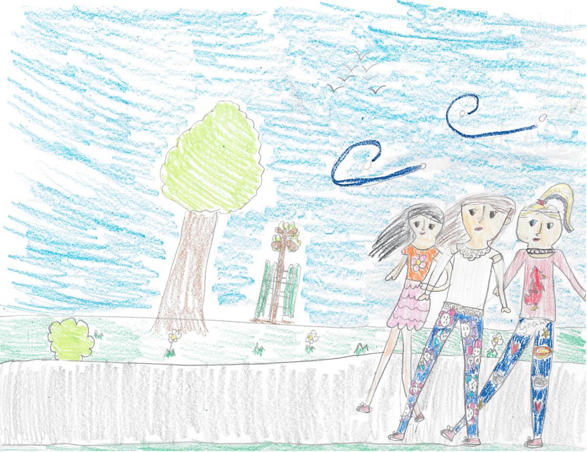 Jocelyn Lewis, grade 4, Washington