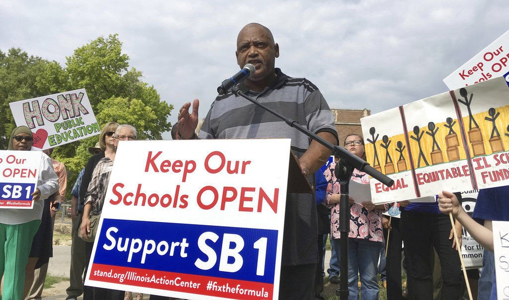 Illinois Senate overrides Rauner's veto of school funding bill