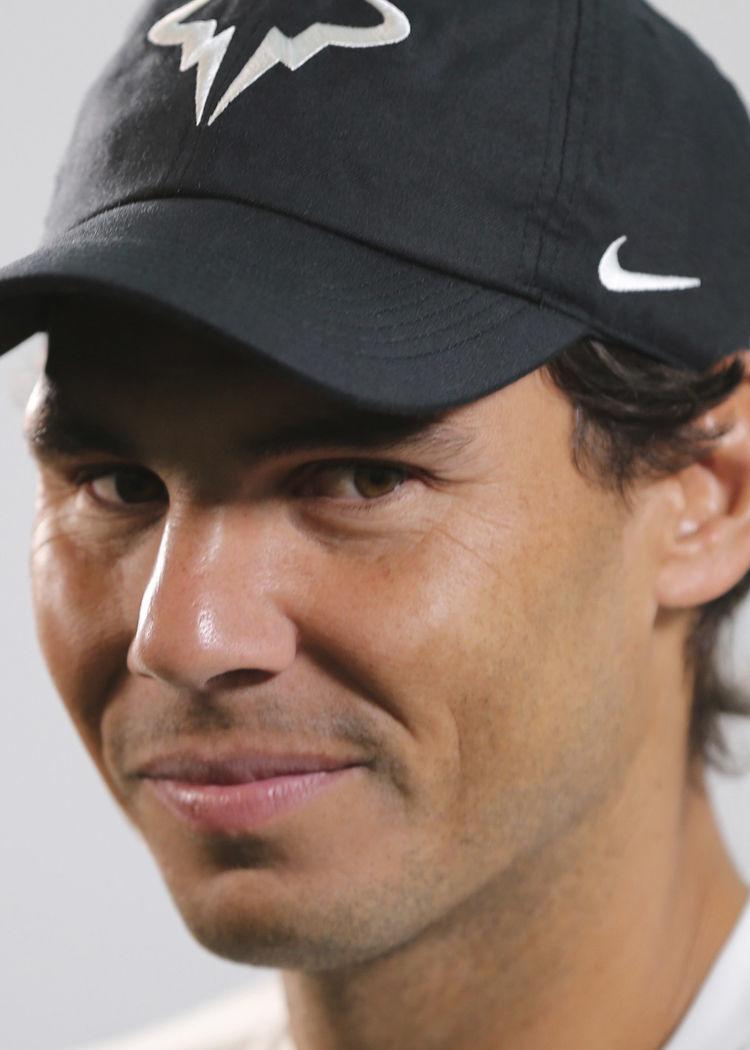 Rafael Nadal, ATP, late 2018 hedshot